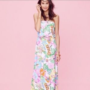 Lilly Pulitzer for Target Nosey Posey Maxi Dress